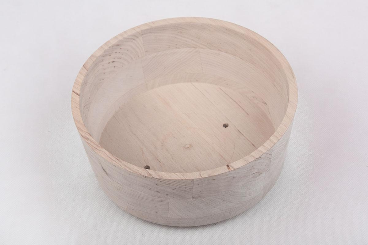 Miska drewniana toczona - HELLUX
