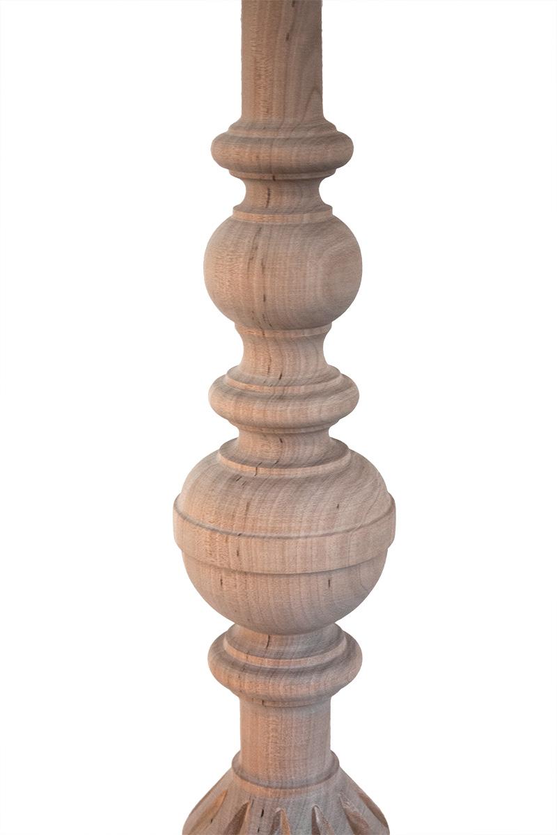 Tralki toczone z litego drewna - HELLUX